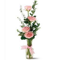 Teleflora's Rose Quartet Vase