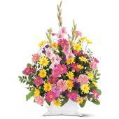 Spring Remembrance Basket