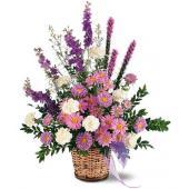 Lavender Reminder Basket