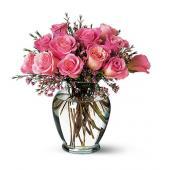 Pink Birthday Roses