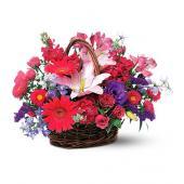 Joyous Birthday Basket