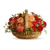 Spanish Garden Basket